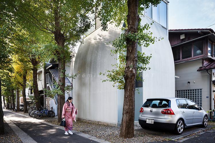 Tokyo, November 20 2010 - Penguin house by Atelier Tekuto.