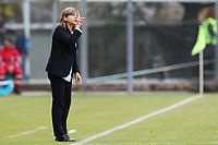 Milena Bartolini coach of Italy gestures<br /> Castel di Sangro 12-11-2019 Stadio Teofolo Patini <br /> Football UEFA Women's EURO 2021 <br /> Qualifying round - Group B <br /> Italy - Malta<br /> Photo Cesare Purini / Insidefoto