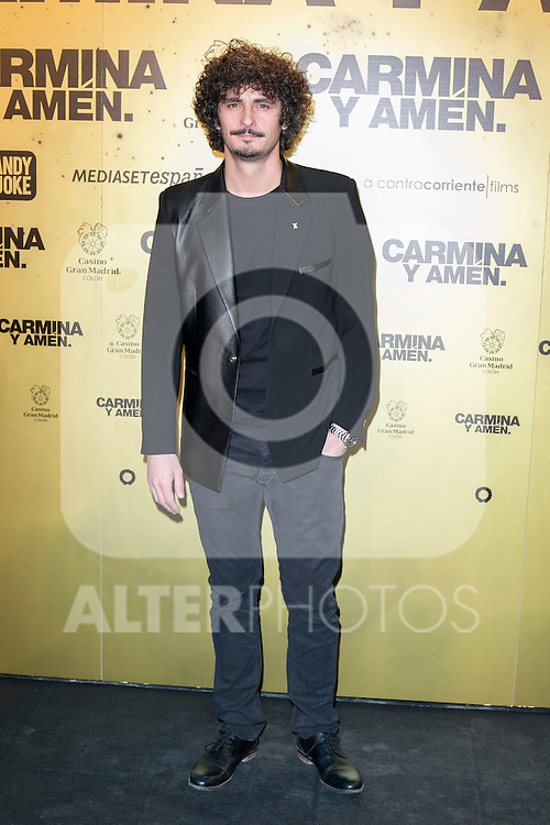 """Spanish actor Antonio Pagudo attend the Premiere of the movie """"Carmina y Amen"""" at the Callao Cinema in Madrid, Spain. April 28, 2014. (ALTERPHOTOS/Carlos Dafonte)"""