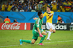 Eiji Kawashima (JPN), <br /> JUNE 24, 2014 - Football /Soccer : <br /> 2014 FIFA World Cup Brazil <br /> Group Match -Group C- <br /> between Japan 1-4 Colombia <br /> at Arena Pantanal, Cuiaba, Brazil. <br /> (Photo by YUTAKA/AFLO SPORT)
