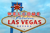 Welcome sign, Las Vegas, Nevada.