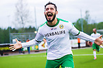 S&ouml;dert&auml;lje 2014-05-18 Fotboll Superettan Syrianska FC - Hammarby IF :  <br /> Hammarbys Pablo Pinones-Arce jublar efter sitt 2-1 m&aring;l<br /> (Foto: Kenta J&ouml;nsson) Nyckelord:  Syrianska SFC S&ouml;dert&auml;lje Fotbollsarena Hammarby HIF Bajen jubel gl&auml;dje lycka glad happy