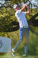 Andrew Putnam (USA) watches his tee shot on 10 during day 1 of the WGC Dell Match Play, at the Austin Country Club, Austin, Texas, USA. 3/27/2019.<br /> Picture: Golffile | Ken Murray<br /> <br /> <br /> All photo usage must carry mandatory copyright credit (© Golffile | Ken Murray)