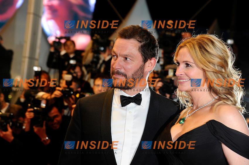 Dominic West, Jukia Roberts<br /> Festival di Cannes 2016 <br /> Foto Panoramic / Insidefoto