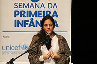 São Paulo (SP), 01/08/2019 - II Semana Municipal da Primeira Infância -  Marina Helou, Deputada Estadual de São Paulo (REDE), participa da abertura da II Semana Municipal da Primeira Infância, nesta quinta-feira, 1. (Foto Charles Sholl/Brazil Photo Press/Agencia O Globo) Política