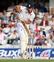 Alastair Cook of England - England vs Australia - 2nd day of the 5th Investec Ashes Test match at The Kia Oval, London - 22/08/13 - MANDATORY CREDIT: Rob Newell/TGSPHOTO - Self billing applies where appropriate - 0845 094 6026 - contact@tgsphoto.co.uk - NO UNPAID USE