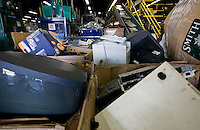 12/4/2008 2:58:56 PM -- Seattle, WA.Many different types of electronics are recycled by Total Reclaim Inc., Environmental Services in Seattle Thursday Dec. 4, 2008..