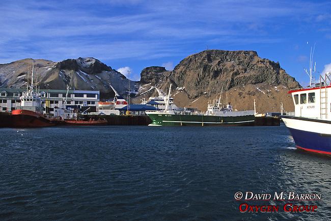Port At Vestmannaeyjar