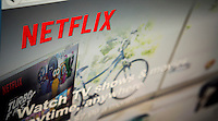 The website video streaming service Netflix is seen on Wednesday, June 3, 2015. A PricewaterhouseCoopers study reported that revenue from streaming and downloading is expected to beat sales of DVD's for the first time with streaming reaching $12 billion in two years.  (© Richard B. Levine)