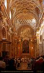 Nave High Altar Altarpiece Assumption Francesco Bassano San Luigi dei Francesi Rome