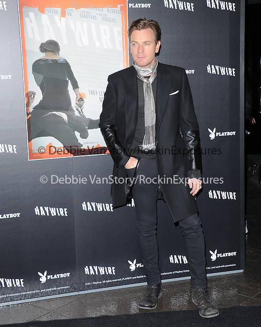 Ewan McGregor attends the Relativity Media L.A. Premiere of Haywire held at The DGA in West Hollywood, California on January 05,2012                                                                               © 2012 DVS / Hollywood Press Agency