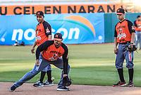 Acciones, durante el d&iacute;a de apertura de la temporada de beisbol de la Liga Mexicana del Pacifico 2017 2018 con el partido entre Naranjeros vs Yaquis. 11 octubre2017 . <br /> (Foto: Luis Gutierrez /NortePhoto.com)