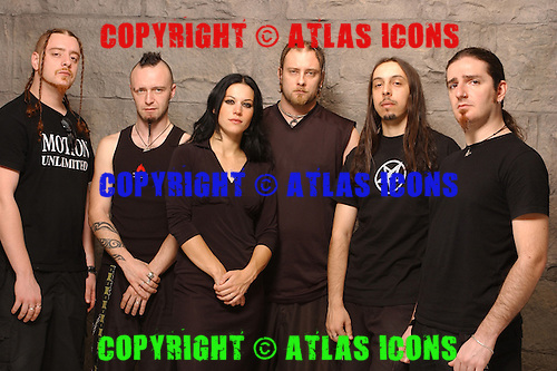 Lacuna Coil; Studio Portrait Session, In New York City,<br /> Photo Credit: Eddie Malluk/Atlas Icons.com