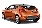 Car pictures of rear three quarter view of 2017 Hyundai Veloster Manual 5 Door Hatchback Angular Rear