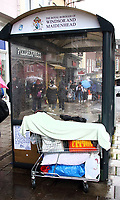 Homeless sleeping rough on the streets in Windsor, UK on Saturday February 3rd 2018<br /> CAP/ROS<br /> <br /> CAP/ROS<br /> &copy;ROS/Capital Pictures