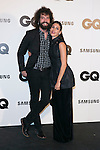 """Juan Ibanez and Nerea Barros attends the """"GQ AWARDS"""" at Palace Hotel in Madrid, Spain. November 3, 2014. (ALTERPHOTOS/Carlos Dafonte)"""