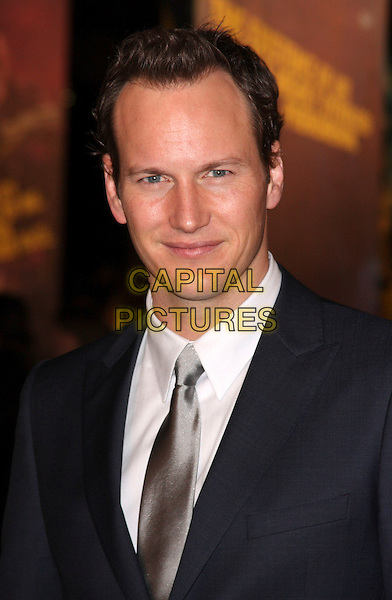 "PATRICK WILSON.The world premiere of ""Watchmen"" Odeon Leicester Square, London, England..February 23rd, 2009.headshot portrait silver tie black blue suit jacket .CAP/ROS.©Steve Ross/Capital Pictures."
