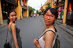 Tram and Mai. Hoi An, Vietnam. April 15, 2016.
