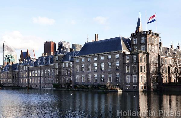 Nederland - Den Haag - 2018. Regeringsgebouwen aan de Hofvijver. Berlinda van Dam / Hollandse Hoogte