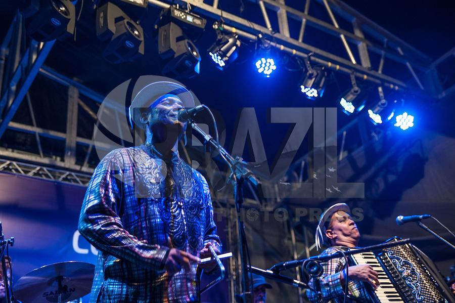 SÃO PAULO,SP, 21.05.2016 - VIRADA-CULTURAL - O Trio Nordestino durante apresentação no palco do Patriarca na Virada Cultural 2016 no centro de São Paulo, neste sábado, 21. (Foto: Rogério Gomes/Brazil Photo Press)