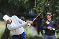 Matt Kuchar (USA) on the 1st during the Second Round - Foursomes of the Presidents Cup 2019, Royal Melbourne Golf Club, Melbourne, Victoria, Australia. 13/12/2019.<br /> Picture Thos Caffrey / Golffile.ie<br /> <br /> All photo usage must carry mandatory copyright credit (© Golffile | Thos Caffrey)