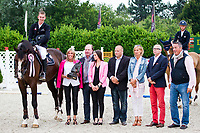 BEL-Jeroen Appelen (FILESTO VD HERKANT) FINAL-1ST:  CSI3* TABLE A AGAINST THE CLOCK WITH JUMP OFF (145cm): Small Grand Prix - Qalifier for Grand Prix: 2014 BEL-Bonheiden CSI1*/CSI3* (Saturday 28 June) CREDIT: Libby Law COPYRIGHT: LIBBY LAW PHOTOGRAPHY - NZL