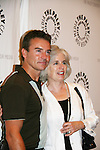 Kurt McKinney and Maeve Kinkead at the Goodbye to Guiding Light, 72 Years Young on August 19, 2009 at the Paley Center for Media, NYC, NY. (Photo by Sue Coflin/Max Photos)