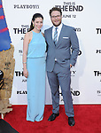 Seth Rogen and wife at Columbia Pictures' World Premiere of This is the End Premiere held at The Regency Village Theatre in Westwood, California on June 03,2013                                                                   Copyright 2013 Hollywood Press Agency