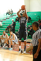 April 9, 2011 - Hampton, VA. USA;  Jacolby Mobley participates in the 2011 Elite Youth Basketball League at the Boo Williams Sports Complex. Photo/Andrew Shurtleff