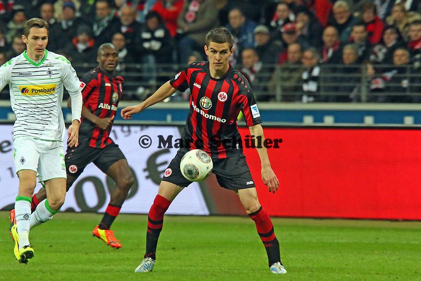 Johannes Flum (Eintracht) - Eintracht Franfurt vs. Borussia Mönchengladbach, Commerzbank Arena