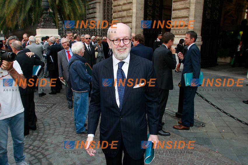 Tommaso Enrico Cucchiani.Roma 31/05/2012 Assemblea Annuale di Banca d'Italia - Bankitalia..Photo Samantha Zucchi Insidefoto