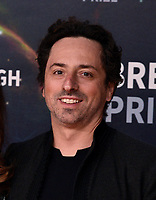 MOUNTAIN VIEW, CALIFORNIA - NOVEMBER 03: Sergey Brin attends the 2020 Breakthrough Prize Ceremony at NASA Ames Research Center on November 03, 2019 in Mountain View, California. Photo: imageSPACE/MediaPunch