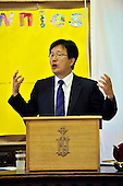 Korea Church in Edinburgh - Minister Rev Kisung Kang preaching - Picture by Donald MacLeod - 7.08.11 - 07702 319 738 - www.donald-macleod.com