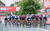 Picture by Allan McKenzie/SWpix.com - 14/07/17 - Cycling - HSBC UK British Cycling National Circuit Series - Velo29 Altura Criterium - Stockton, England - The race sets off in Stockton.