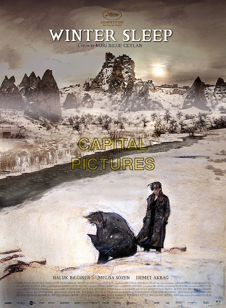 ENGLISH LANGUAGE POSTER ART<br /> in Winter Sleep (2014) <br /> (Kis uykusu)<br /> *Filmstill - Editorial Use Only*<br /> CAP/FB<br /> Image supplied by Capital Pictures