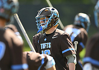 MIDDLETOWN, Conn. – After falling behind, 2-1, less than five minutes into its NESCAC semifinal game against No. 4-ranked Amherst College, the No. 6 Tufts University men's lacrosse team responded with seven unanswered goals, and then withstood multiple runs by the Mammoths en route to a 20-12 win on Saturday afternoon at Jackson Field in Middletown, Conn.