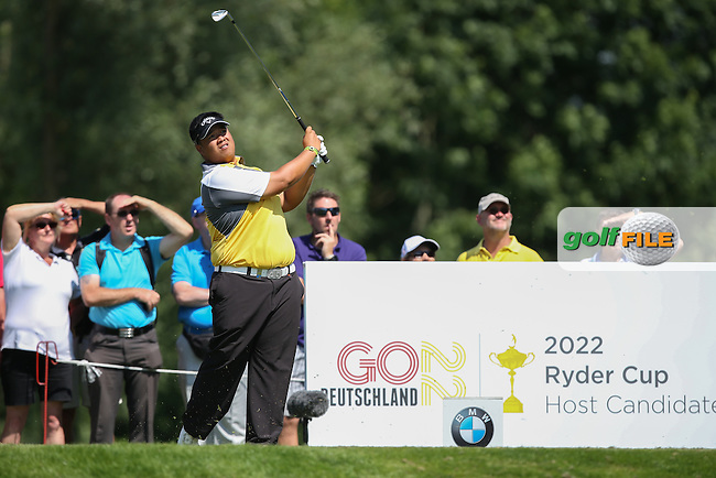 Kiradech Aphibarnrat (THA) on the 12th tee during Round Two of the 2015 BMW International Open at Golfclub Munchen Eichenried, Eichenried, Munich, Germany. 26/06/2015. Picture David Lloyd | www.golffile.ie