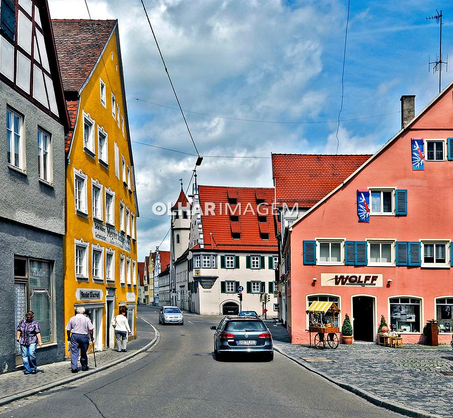 Cidade medieval Nordlingen. Alemanha. 2011. Foto de Juca Martins