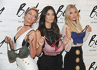 NEW YORK, NY - JULY 26: (L-R) Victoria's Secret Angels Stella Maxwell, Lily Aldridge, and Elsa Hosk launch the all-new 'Easy' Collection from Body By Victoria at Victoria's Secret SoHo on July 26, 2016 in New York City. Photo Credit:John Palmer/ MediaPunch