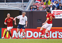 22 MAY 2010:  Rachel Buehler  during the International Friendly soccer match between Germany WNT vs USA WNT at Cleveland Browns Stadium in Cleveland, Ohio. USA defeated Germany 4-0 on May 22, 2010.