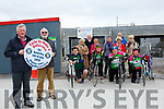 Dementia Centre: Pictured at the site of the new Dementia Centre, Listowel to announce the drive for Ring Of Kerry fundraiser were Pat Carmody & Michael Moriarity and some of the cyclists that will take part on the day.