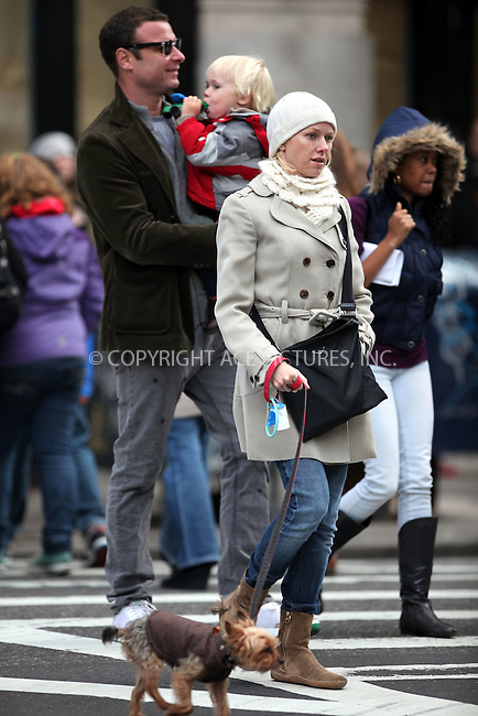 WWW.ACEPIXS.COM . . . . .  ....November 6 2009, New York City....Liev Schreiber and wife Naomi Watts with their sons Alexander and Samuel walk around their NoHo neighborhood on November 6, 2009 in New York City.....Please byline: NANCY RIVERA- ACE PICTURES.... *** ***..Ace Pictures, Inc:  ..tel: (212) 243 8787 or (646) 769 0430..e-mail: info@acepixs.com..web: http://www.acepixs.com
