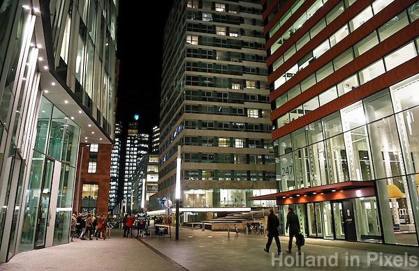 Nederland Amsterdam 2016.  Kantoren op de Zuidas. Foto Berlinda van Dam / Hollandse Hoogte