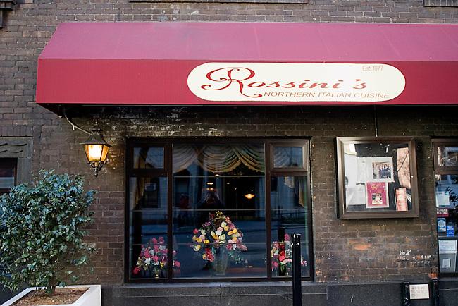 Rossini's Northern Italian Cuisine, Exterior, New York, New York
