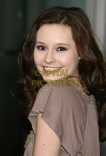 "JILLIAN CLARE .""Run Fat Boy Run"" Los Angeles Premiere held at the ArcLight Cinemas, Hollywood, California , USA, .24 March 2008..portrait headshot back over shoulder.CAP/ADM/RE.©Russ Elliot/Admedia/Capital PIctures"