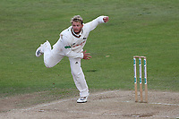 Ben Duckett in bowling action for Notts during Nottinghamshire CCC vs Essex CCC, Specsavers County Championship Division 1 Cricket at Trent Bridge on 1st July 2019