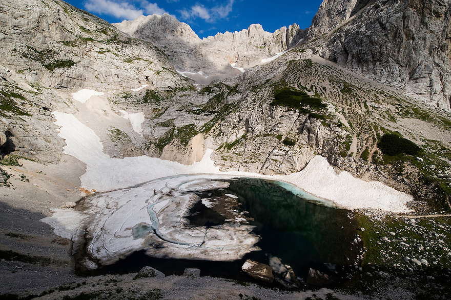 Lower Kriz Lake<br /> Triglav National Park, Slovenia<br /> July 2009