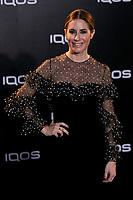 Ainhoa Arbizu attends to IQOS3 presentation at Palacio de Cibeles in Madrid, Spain. February 13, 2019. (ALTERPHOTOS/A. Perez Meca) /NortePhoto.com