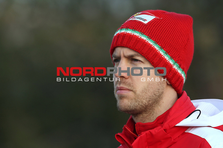 Sebastian Vettel (GER), Scuderia Ferrari<br /> for the complete Middle East, Austria &amp; Germany Media usage only!<br />  Foto &copy; nph / Mathis