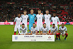 England's team group during the friendly match at Wembley Stadium, London. Picture date November 15th, 2016 Pic David Klein/Sportimage